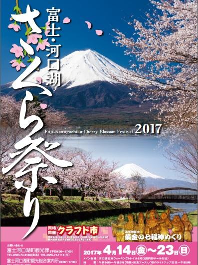富士・河口湖さくら祭りの詳細