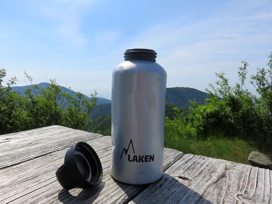 登山用アルミボトル(水筒) LAKEN(ラーケン)