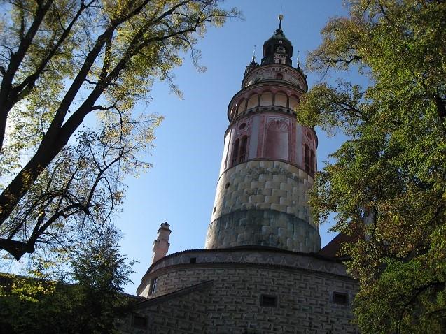 チェコのチェスキークルムロフ古城n