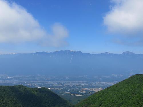 茅ヶ岳・金ヶ岳周辺景色