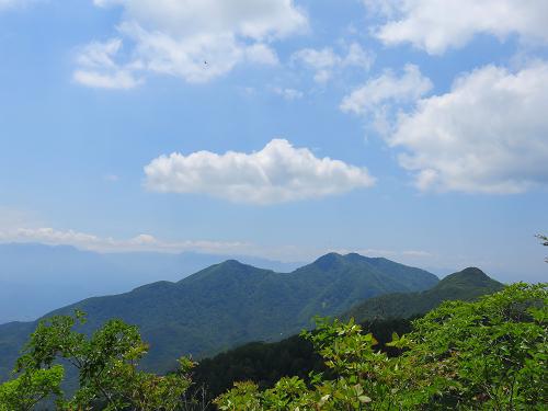 黒富士展望台からの景色