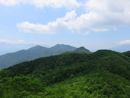 素晴らしい黒富士山頂での時間と風景
