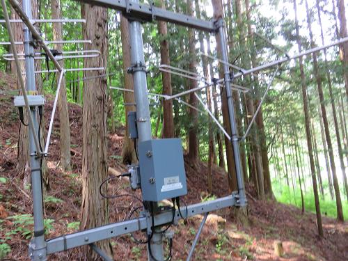 作業道電波の設備