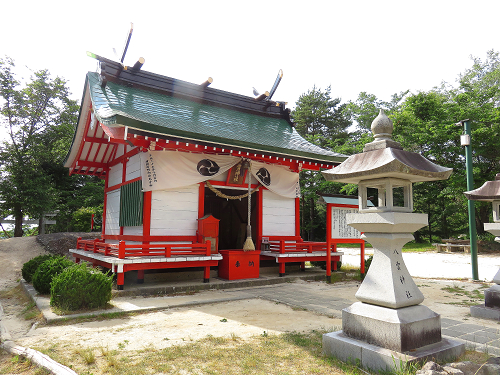 羅漢寺山八雲神社