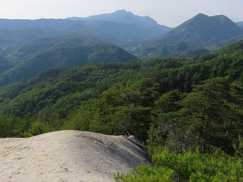 曲岳・黒富士・太刀岡山・羅漢寺山周辺景色