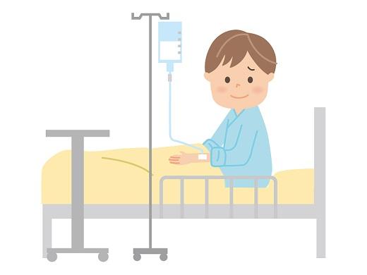 扁桃腺が腫れて入院