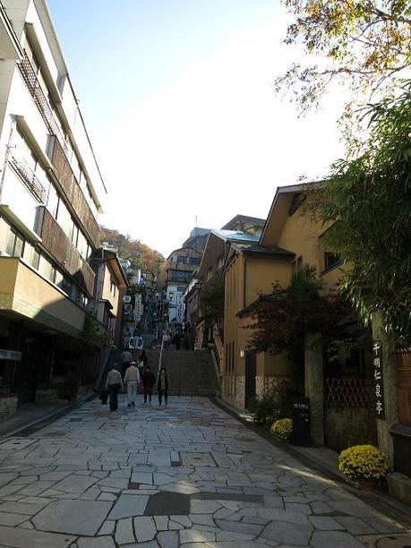 伊香保の温泉街