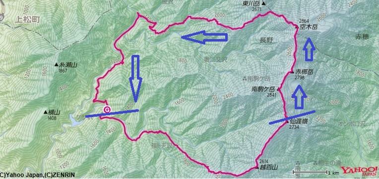 南駒ヶ岳~空木岳~木曽殿山荘