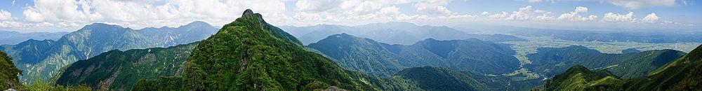八海山から絶景
