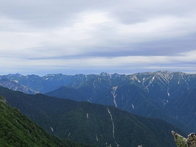 鷲羽岳に水晶岳、野口五郎岳などの裏銀座縦走コース