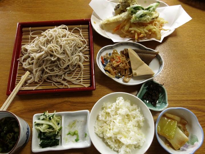 赤沢そば処 武蔵屋蕎麦ランチ