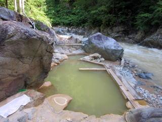 赤湯温泉山口館の温泉