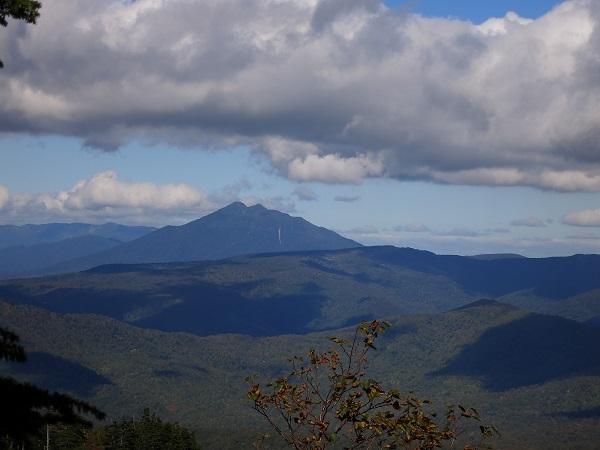 武尊山付近から燧ヶ岳