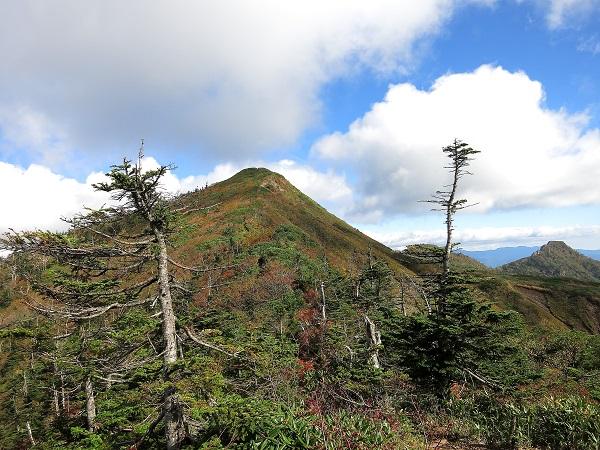 目的地である武尊山