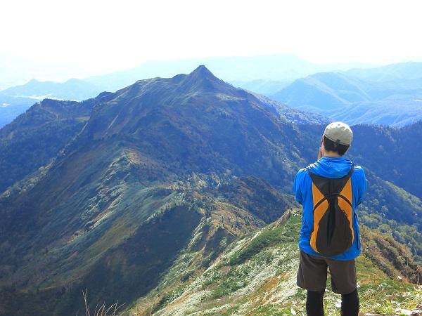武尊山からの風景