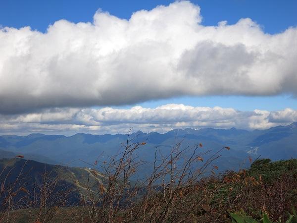武尊山最後の景色