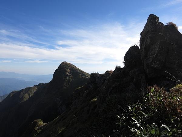谷川岳の山頂