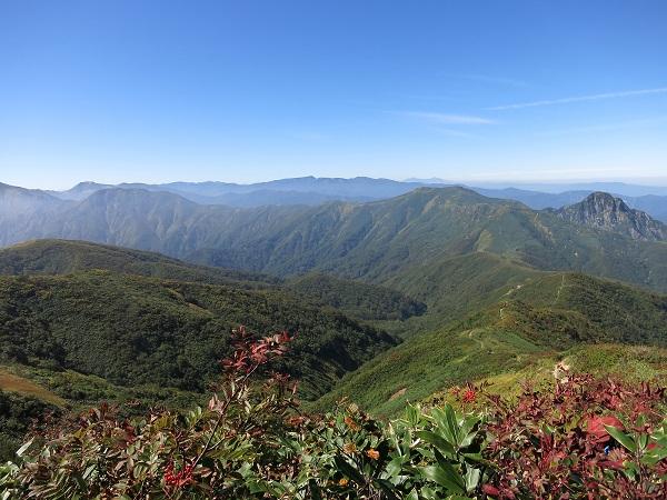 上越のマッターホルン大源太山