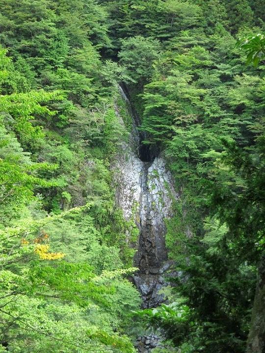 毛無山不動の滝