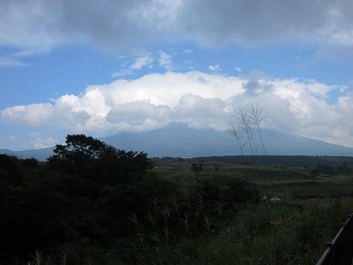 下半身だけ富士山