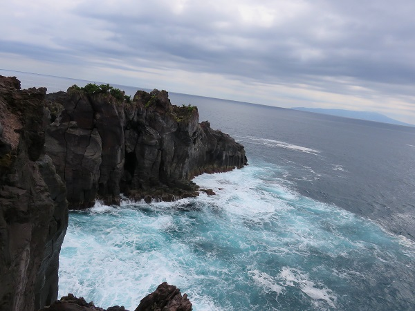 城ヶ崎海岸波の景色
