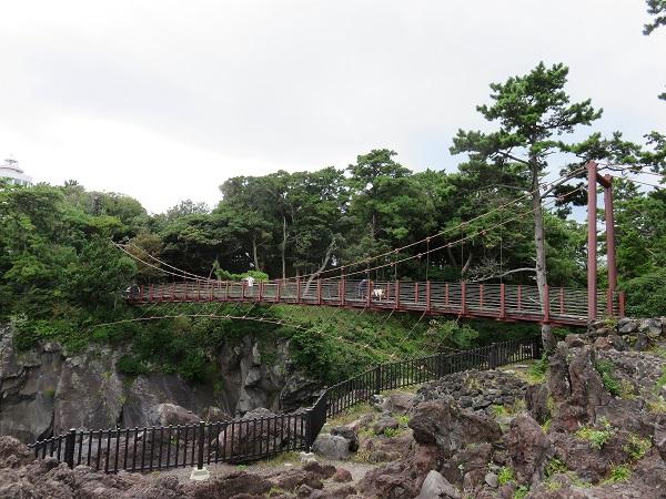 門脇吊橋城ヶ崎海岸