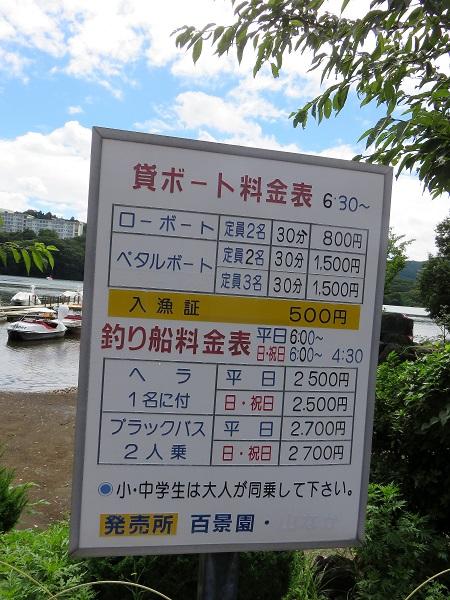 貸しボート値段