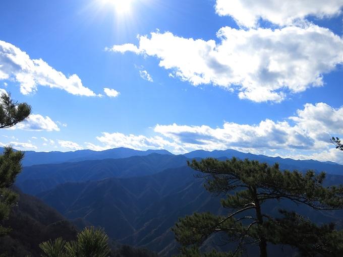 両神山景色が開ける場所