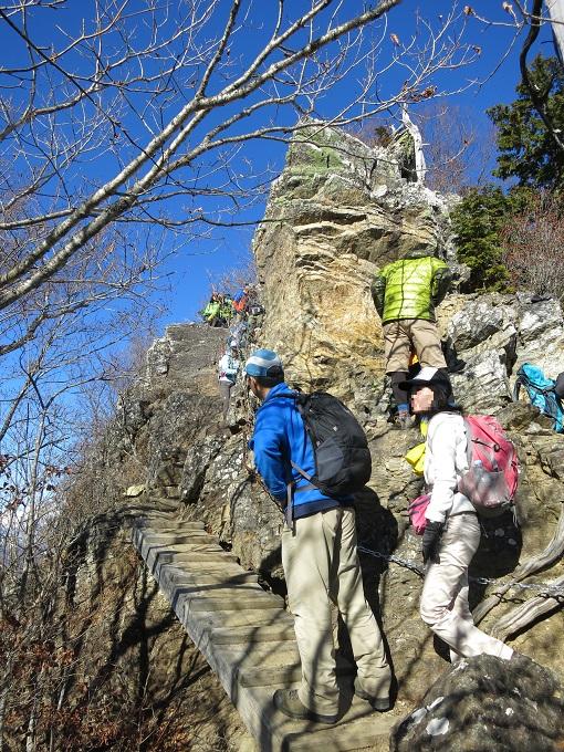 両神山剣ヶ峰の近くテント泊装備出来ている私たち
