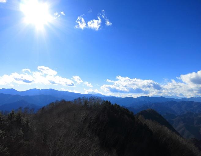 両神山テント泊装備で周回景色