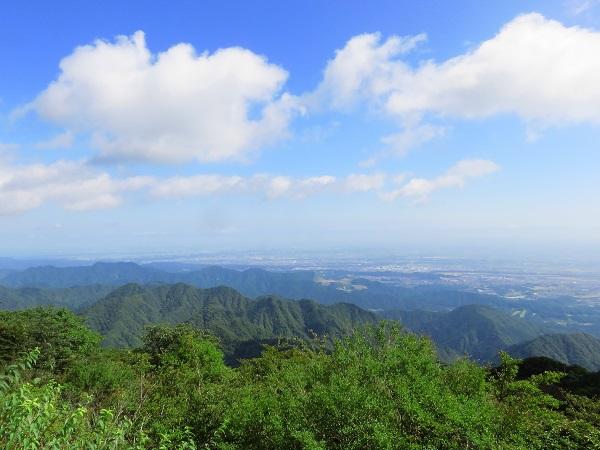 大山登山景色