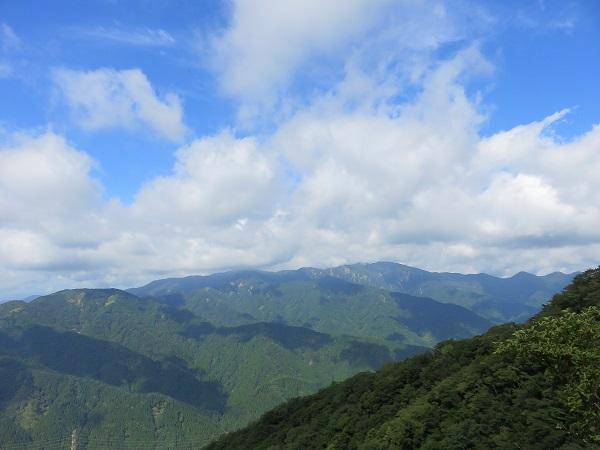 塔ノ岳と丹沢山