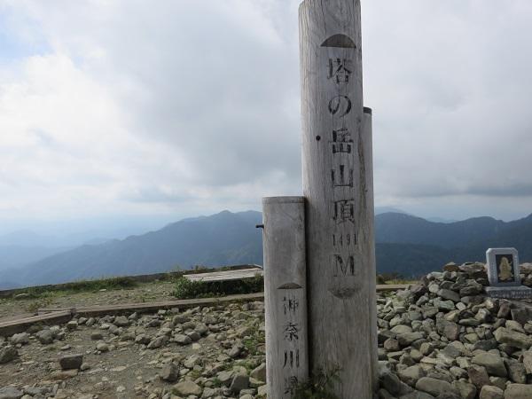 塔ノ岳(標高1,491m)