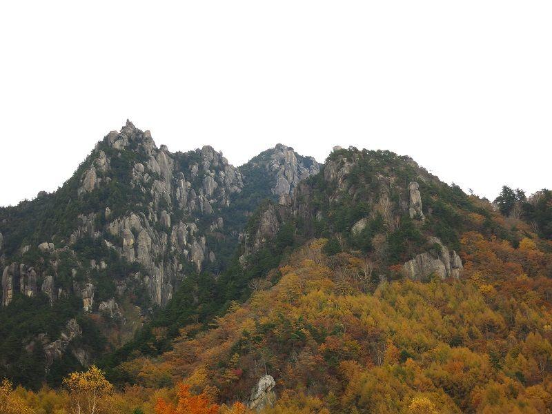 瑞牆山周辺の紅葉