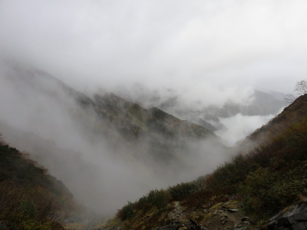 針ノ木岳周辺
