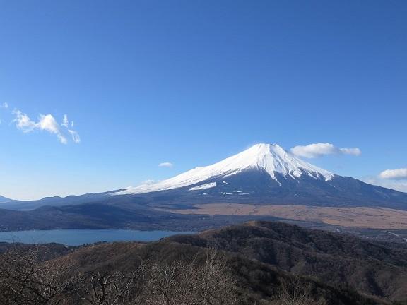 石割の湯から富士山景色