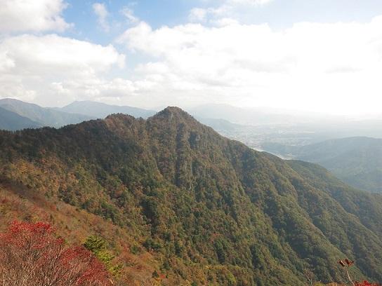十二ヶ岳綺麗な山容