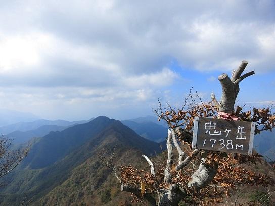 鬼ヶ岳の山頂景色
