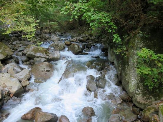 竜門峡の滝