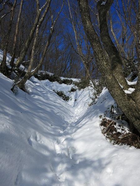 金時山・明神ヶ岳凄い雪の量