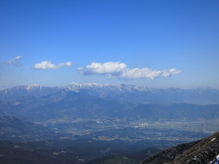 明神ヶ岳から金時山雪
