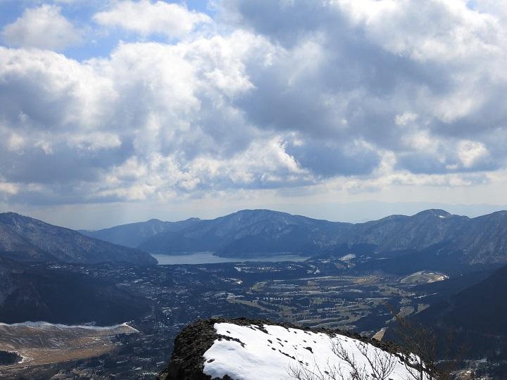 箱根外輪山の山々