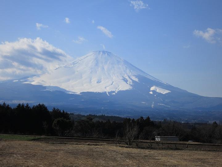 金時山富士山