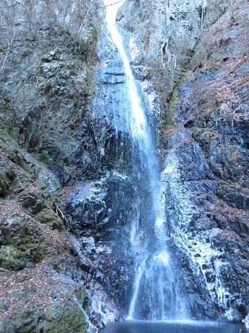 氷瀑白糸の滝