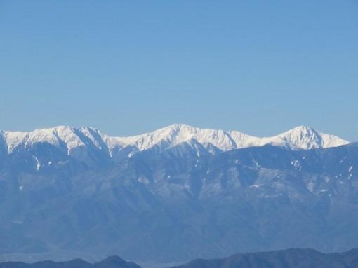 大菩薩峠から白峰三山景色