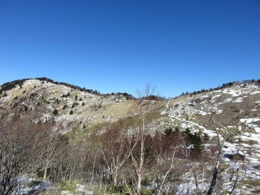 大菩薩嶺への稜線