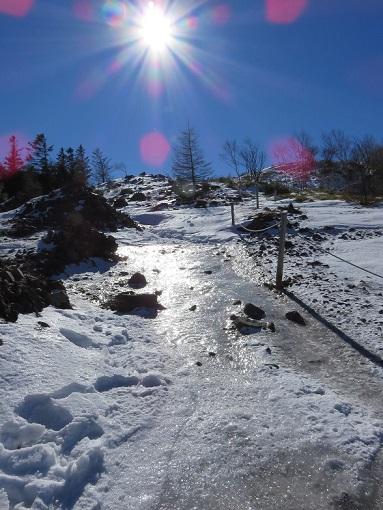 大菩薩嶺に雪