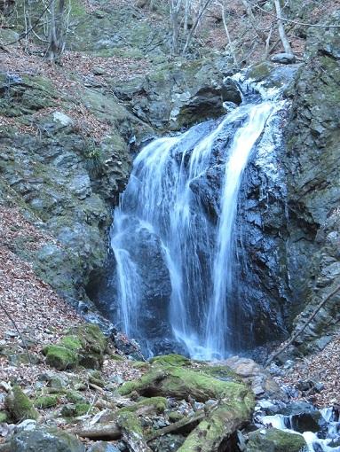 狩場巡視道大きな滝