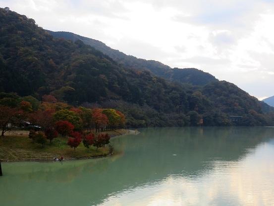 丹沢湖周辺の紅葉