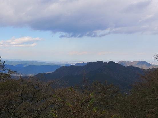大山三峰景色